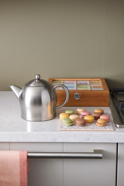 Edelstahl Teekanne Minuet® Santhee - 1,4L , silber matt