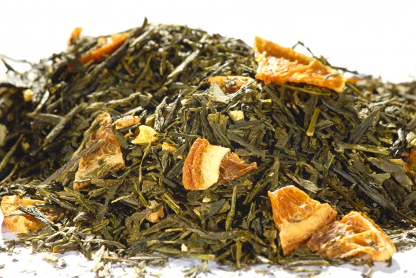 Orange Sencha (natürliches Aroma)